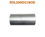 "ROL200ID218OD 617577 2"" ID to 2 1/8"" OD Universal Exhaust Pipe to Component Adapter Reducer"