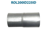 "ROL200ID225ID 548545 2"" ID to 2 1/4"" ID Universal Exhaust Pipe to Pipe Adapter Reducer"