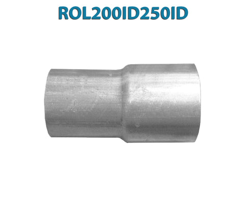 "ROL200ID250ID 548546 2"" ID to 2 1/2"" ID Universal Exhaust Pipe to Pipe Adapter Reducer"