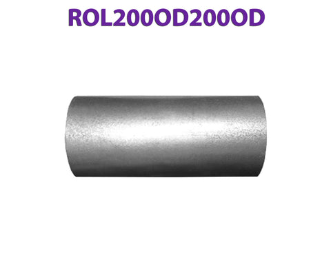 "ROL200OD200OD 617565 2"" OD to 2"" OD Universal Exhaust Component to Component Insert Coupling"