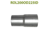 "ROL200OD225ID 548502 2"" OD to 2 1/4"" ID Universal Exhaust Component to Pipe Adapter Reducer"
