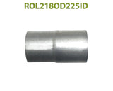 "ROL218OD225ID 548521 2 1/8"" OD to 2 1/4"" ID Universal Exhaust Component to Pipe Adapter Reducer"