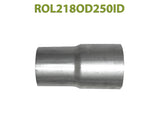 "ROL218OD250ID 548540 2 1/8"" OD to 2 1/2"" ID Universal Exhaust Component to Pipe Adapter Reducer"
