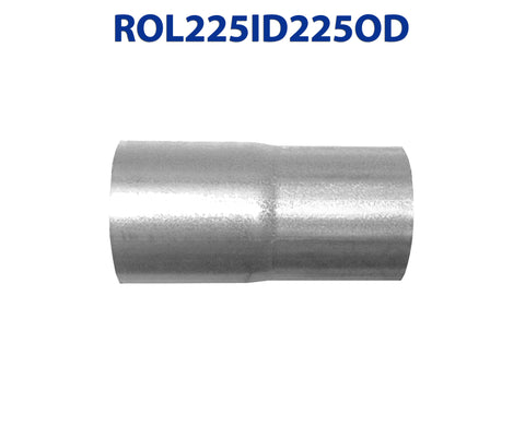 "ROL225ID225OD 548512 2 1/4"" ID to 2 1/4"" OD Universal Exhaust Pipe to Component Coupling Connector"