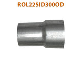 "ROL225ID300OD 617573 2 1/4"" ID to 3"" OD Universal Exhaust Pipe to Component Adapter Reducer"