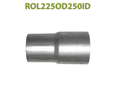 "ROL225OD250ID 548518 2 1/4"" OD to 2 1/2"" ID Universal Exhaust Component to Pipe Adapter Reducer"
