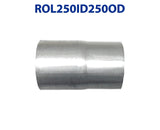 "ROL250ID250OD 548517 2 1/2"" ID to 2 1/2"" OD Universal Exhaust Pipe to Component Coupling Connector"