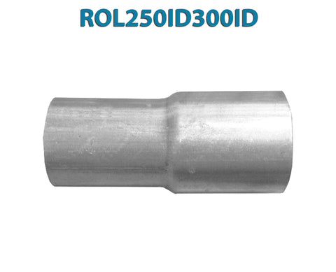 "ROL250ID300ID 617579 2 1/2"" ID to 3"" ID Universal Exhaust Pipe to Pipe Adapter Reducer"