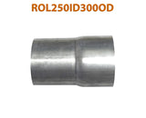 "ROL250ID300OD 548583 2 1/2"" ID to 3"" OD Universal Exhaust Pipe to Component Adapter Reducer"