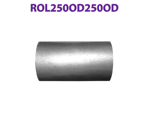 "ROL250OD250OD 617570 2 1/2"" OD to 2 1/2"" OD Universal Exhaust Component to Component Insert Coupling"