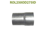 "ROL250OD275ID 548585 2 1/2"" OD to 2 3/4"" ID Universal Exhaust Component to Pipe Adapter Reducer"