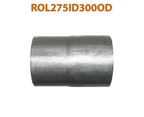 "ROL275ID300OD 548588 2 3/4"" ID to 3"" OD Universal Exhaust Pipe to Component Adapter Reducer"