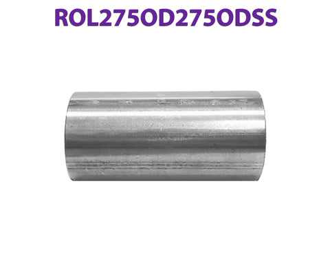 "ROL275OD275ODSS 648216 2 3/4"" OD to 2 3/4"" OD Stainless Exhaust Component to Component Insert Coupling"