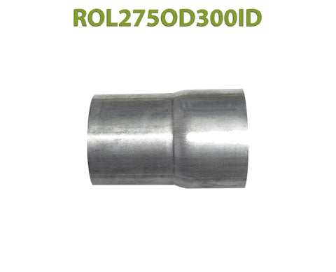 "ROL275OD300ID 548584 2 3/4"" OD to 3"" ID Universal Exhaust Component to Pipe Adapter Reducer"
