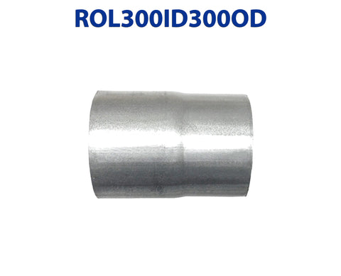 "ROL300ID300OD 548581 3"" ID to 3"" OD Universal Exhaust Pipe to Component Coupling Connector"