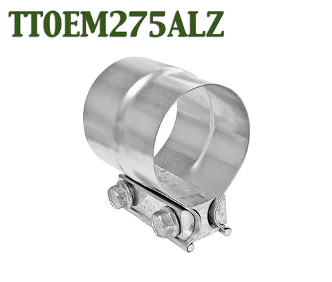 "2.75"" 2 3/4"" Torctite Lap Joint Steel Exhaust Clamp"