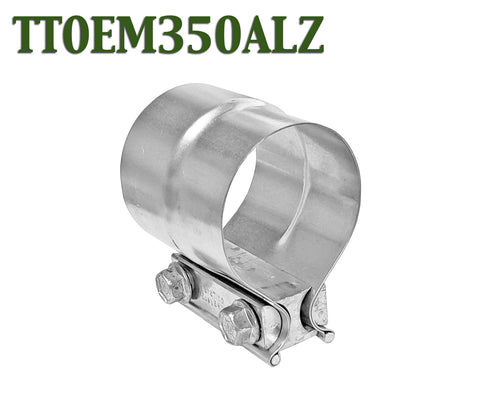 "3.5"" 3 1/2"" Torctite Lap Joint Steel Exhaust Clamp"