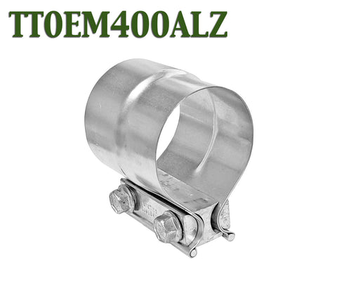 "4"" Torctite Lap Joint Steel Exhaust Clamp"