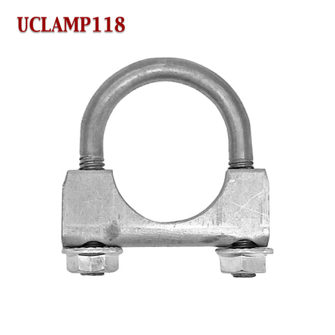 "1 1/8"" U-Bolt Muffler Exhaust Clamp For 1.125"" Pipe"