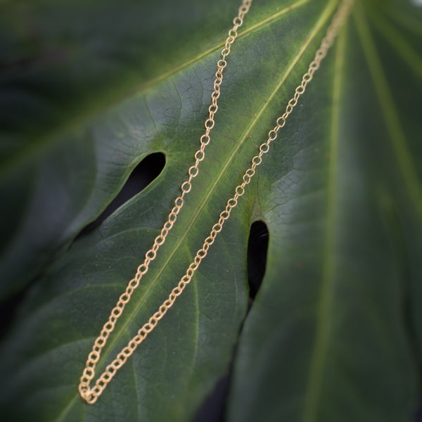 14kt Gold Filled Oval Chain