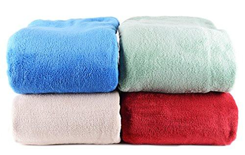 2PO Ultimate Warmth Soft Microfiber Plush Thermal Blanket - Twin Size