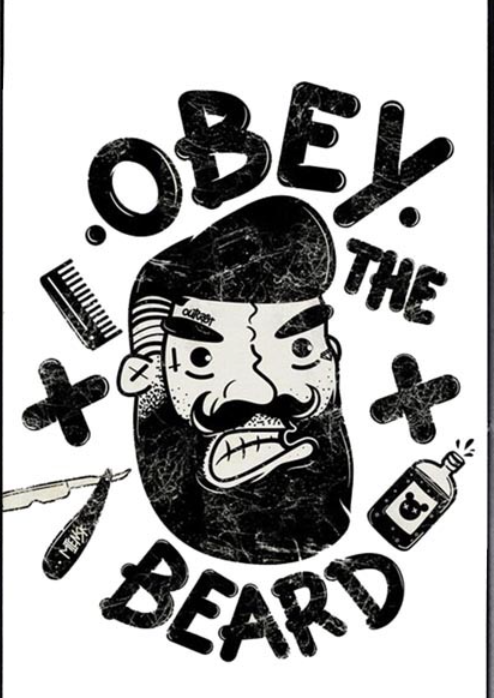 Obey the Beard iPhone X case