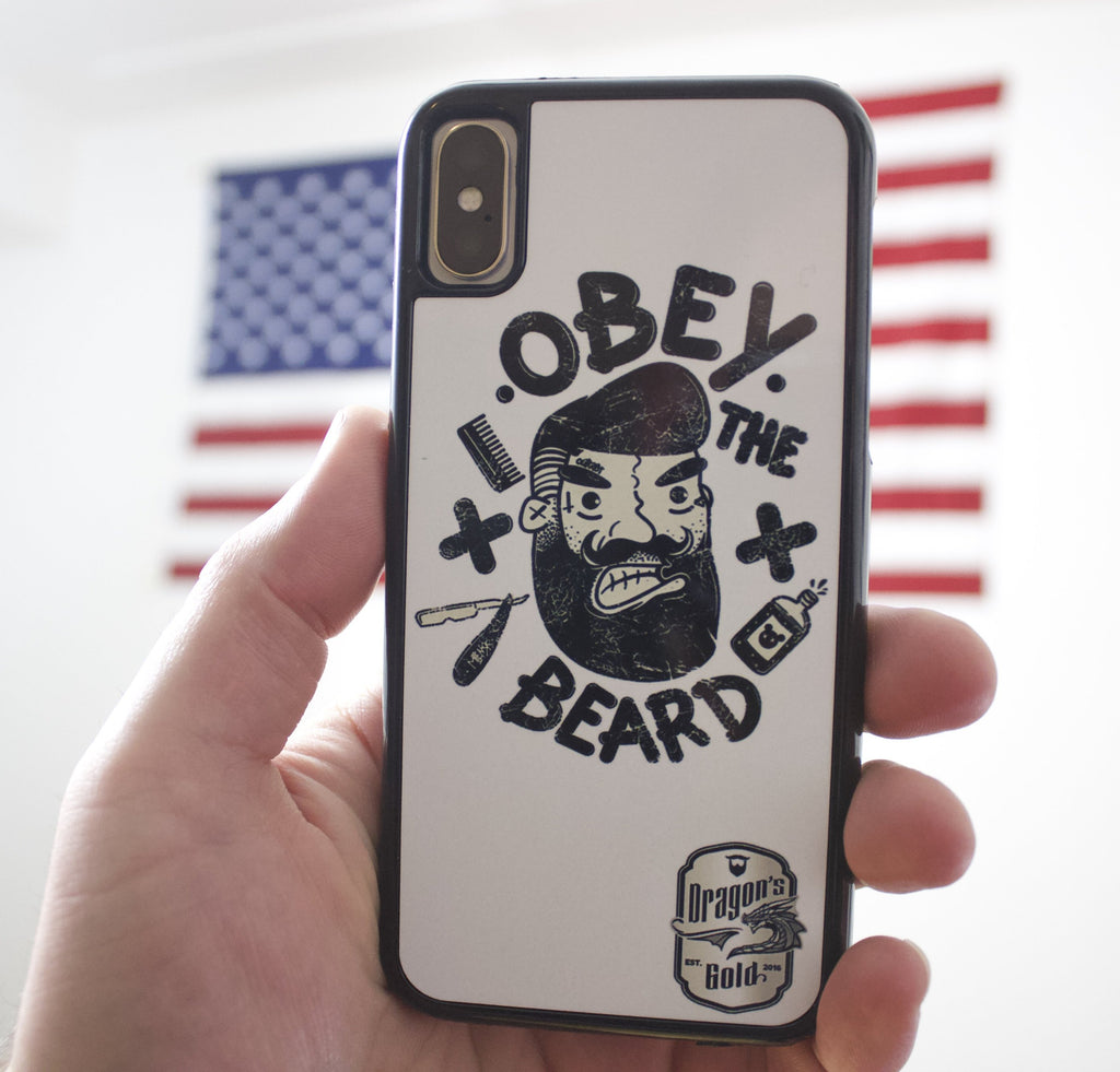 iPhone X beard Case