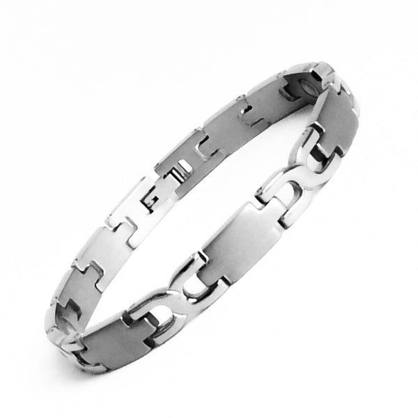 Lady Titanium Magnetic Therapy Bracelet Pain Relief for Arthritis and Carpal Tunnel
