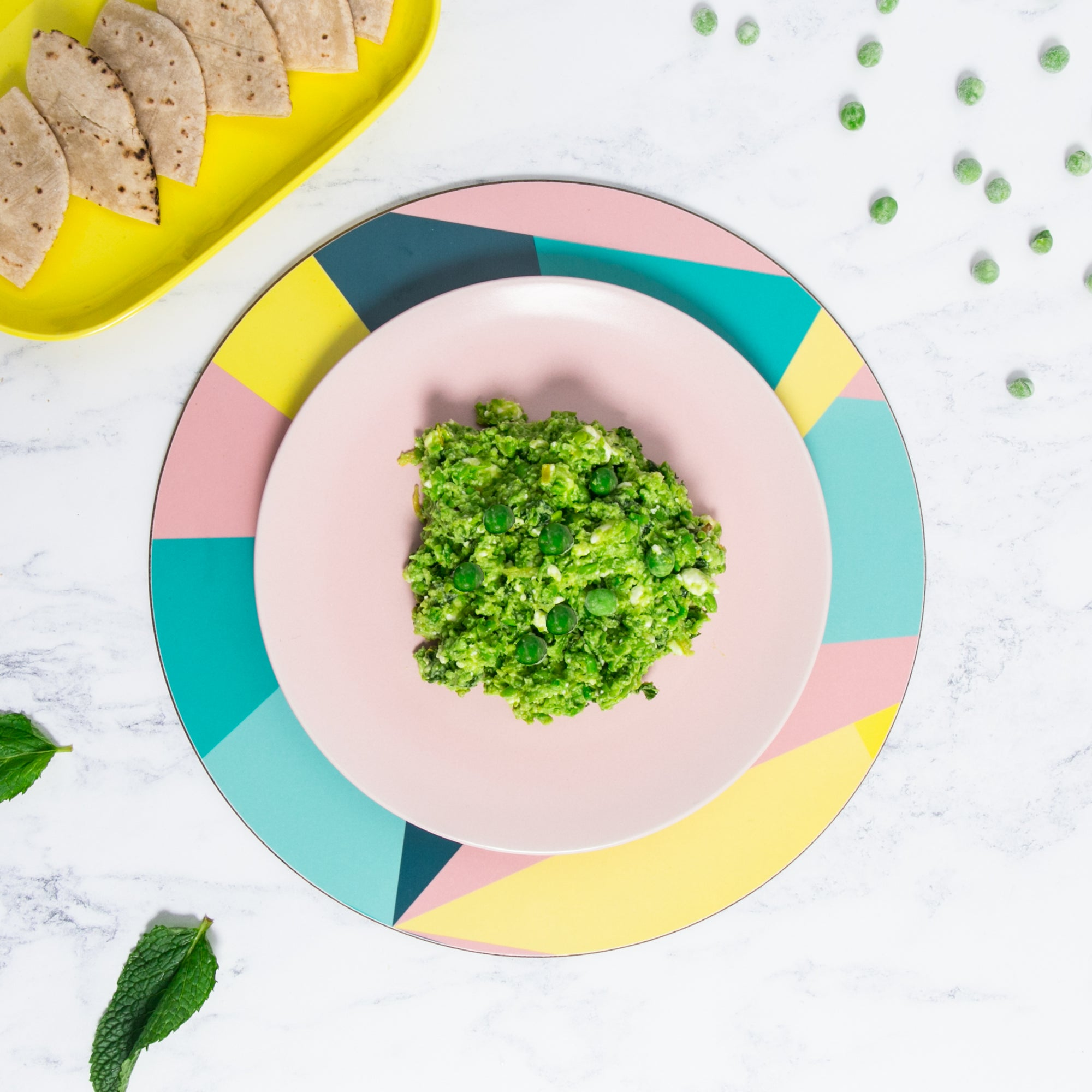 Pea, Mint and Feta Dip