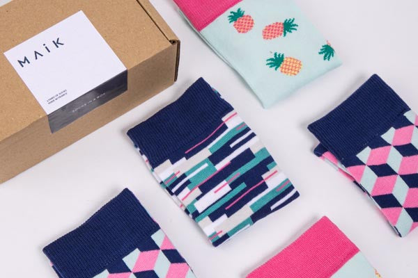 Embrace the power of colourful socks