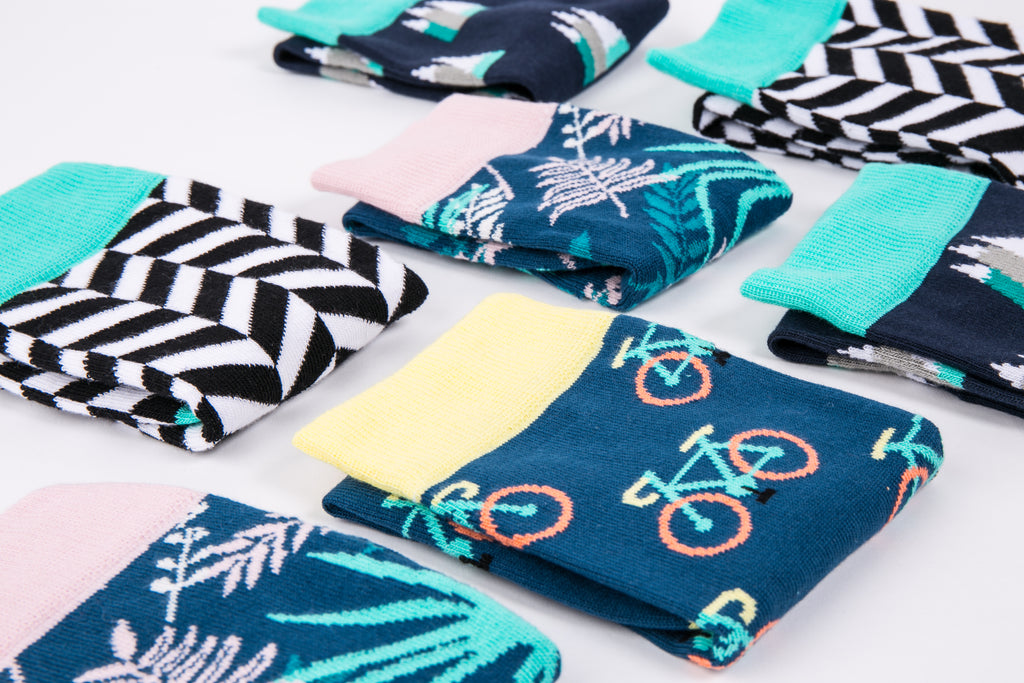 Bicycle socks are back in stock!