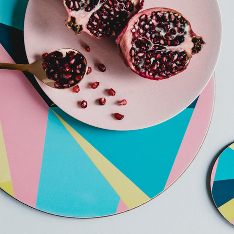 MAiK Geometric Circle Placemat
