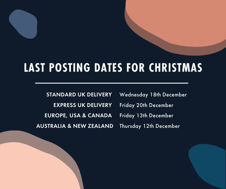 Last posting dates for Christmas 2019
