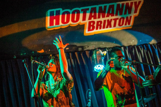 Maik loves a night out at the hootananny in Brixton.