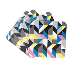 Colourful coaster set from MAiK London