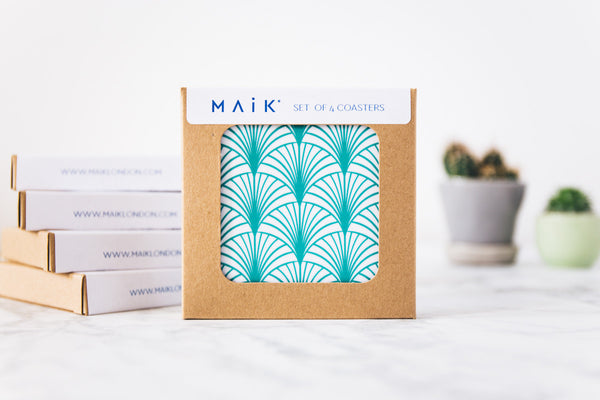 Geometric coaster set from MAiK London