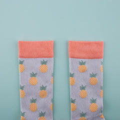 Pineapple Socks - cotton funky and colourful