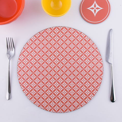 Star Round Set of 6 Placemats UK