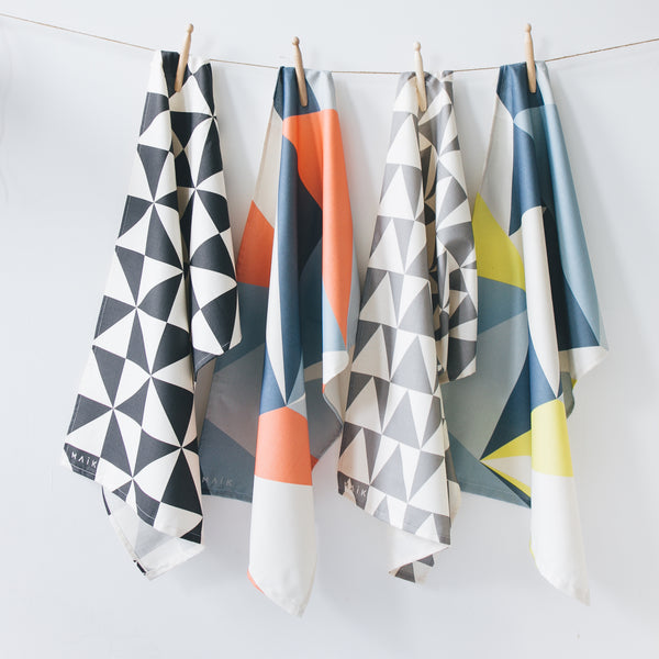 100% organic cotton tea towels from MAiK