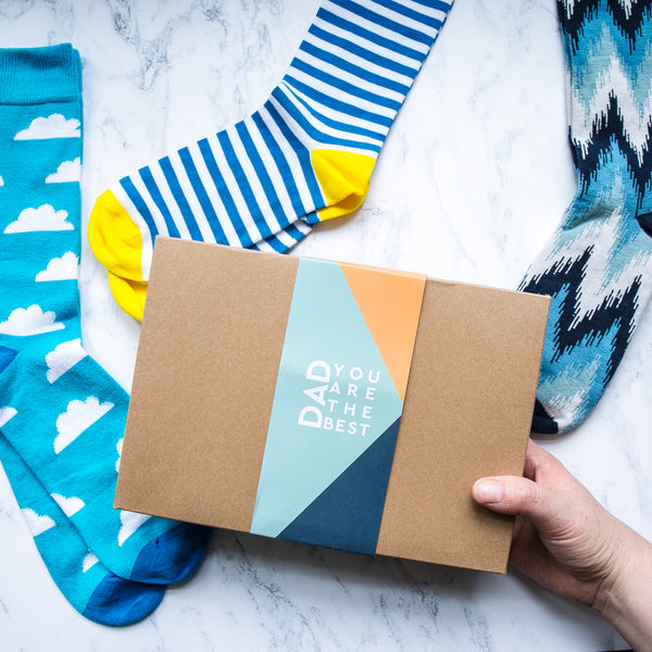Give your dad a present to remember this Father's Day with our Dad You Are The Best Socks Gift Box.