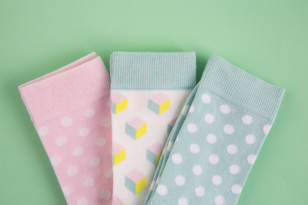 Pastel Socks for women from MaiK London