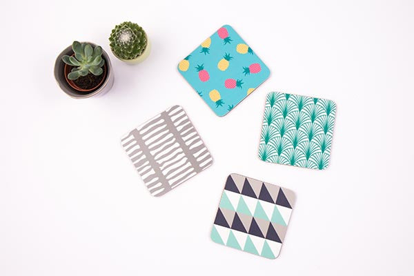 Organic Melamine Sustainable Coasters from MAiK London