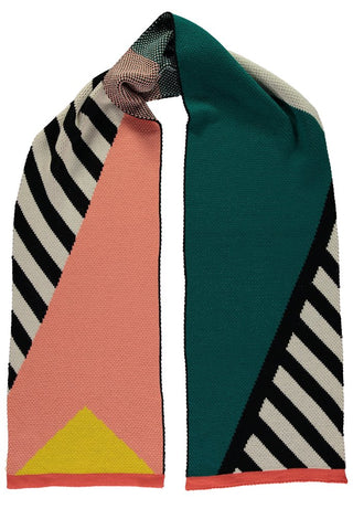 Geometric scarf from Miss Pom Pom featured by MAiK