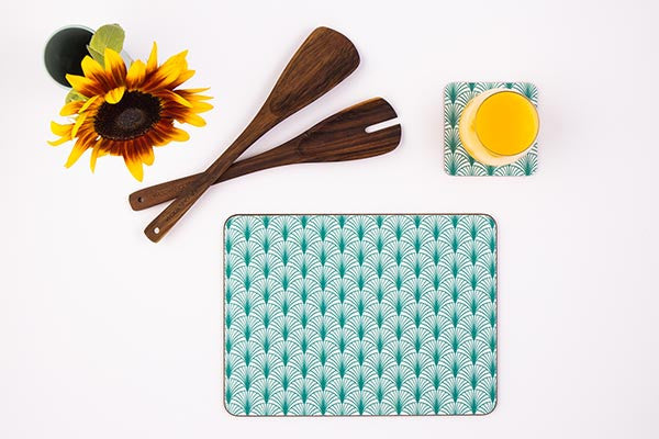Sustainable placemats made in the UK from MAiK London