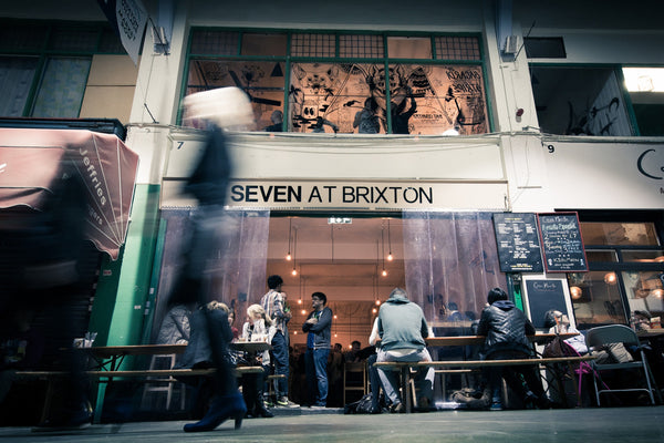 |Evening cocktails at Seven Brixton with Maik London