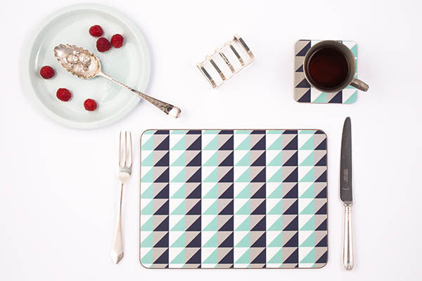 Geometric Placemats by MAiK London