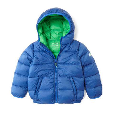 Childens puffa jacket from Toastie Pig