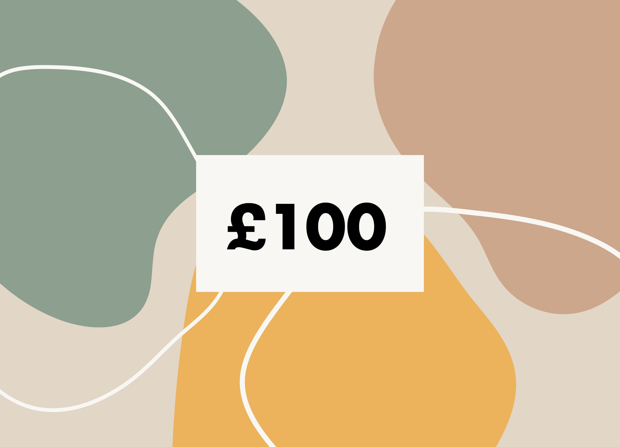 £100 Gift Card - MAiK sustainably sourced, ethically produced.