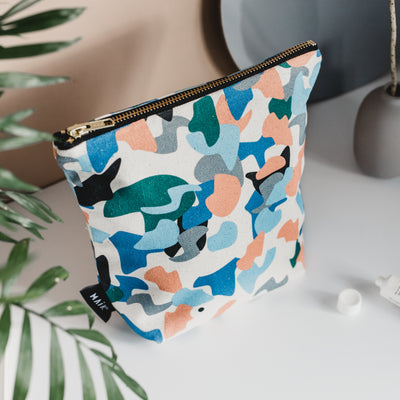 Confetti Make Up Bag - MAiK sustainably sourced, ethically produced.
