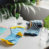 Breton Green Socks - MAiK sustainably sourced, ethically produced.